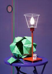 Origami-Lampenschirm: Der Stern der Sonobe