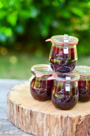 Pickled Heidels - eingelegte Heidelbeeren von den [Foodistas]