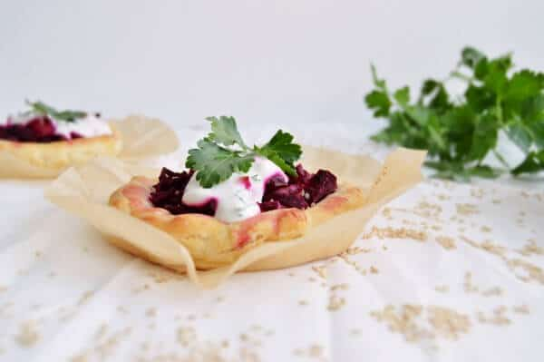 Eingemachte Bete Pizza von den [Foodistas]