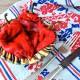 Rumänischer Salat von gegrillter Spitzpaprika