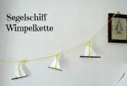 Schiffchenkette für das Kinderzimmer DIY