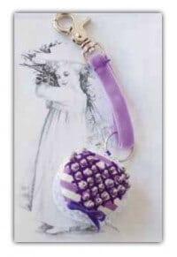 Macaron Schlüsselanhänger