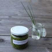 Schnittlauch-Pesto   konservierte Gartenfreude