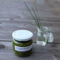 Schnittlauch-Pesto | konservierte Gartenfreude