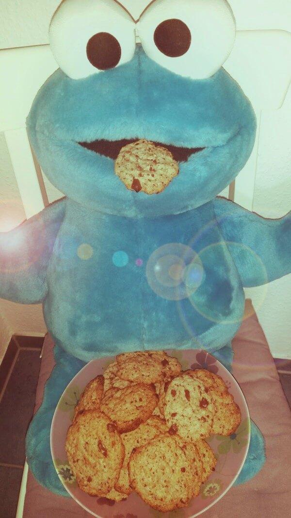 Wir wollen Kekse! American Cookies vegan