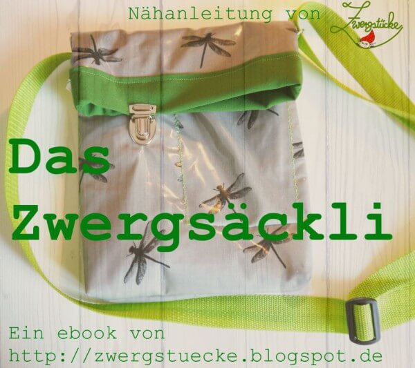 """[Freebook] """"Das Zwergsäckli"""" - Wir nähen eine Tasche"""