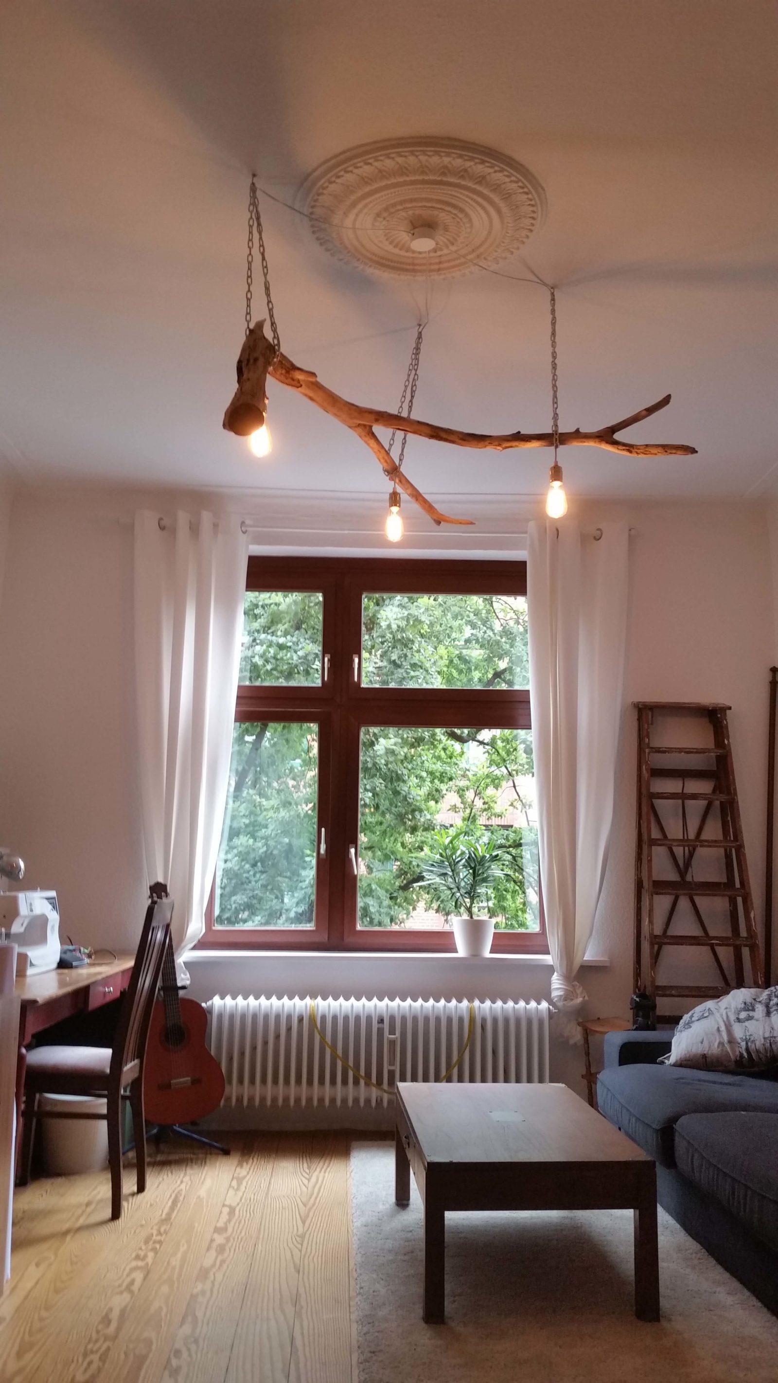 astlampe handmade kultur. Black Bedroom Furniture Sets. Home Design Ideas