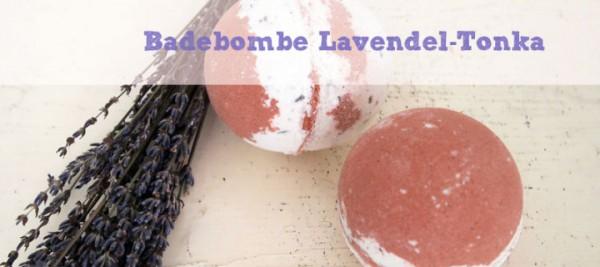 DIY Badebomben Lavendel-Tonka