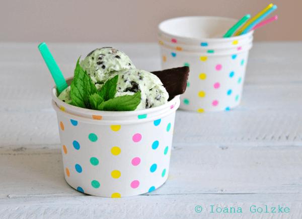 Schoko-Minze-Eis