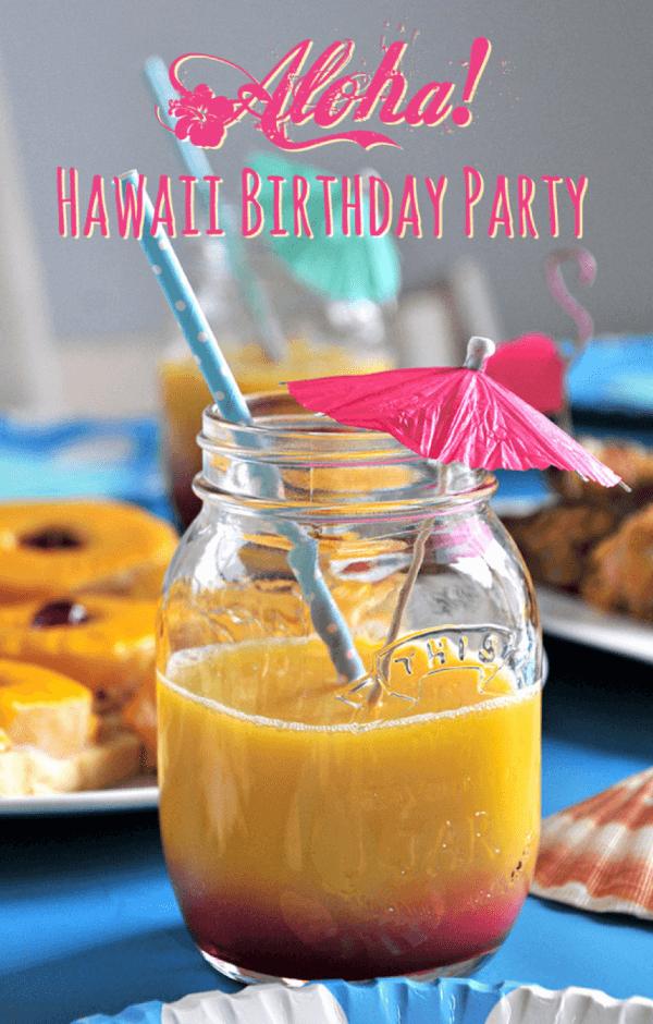 Aloha! Hawaii Geburtstagsparty