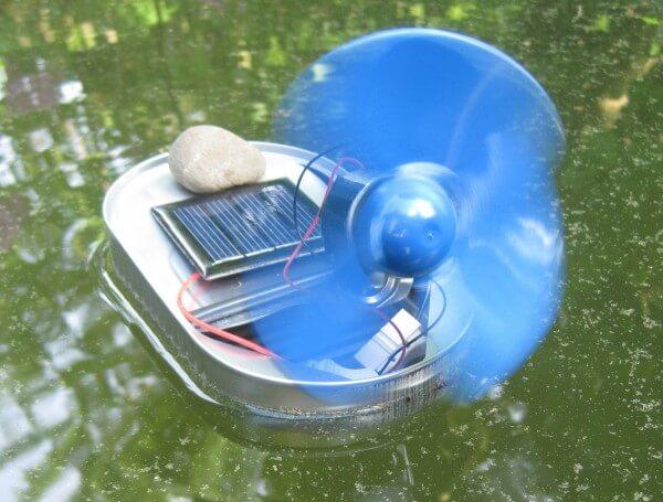 Solarboot to go