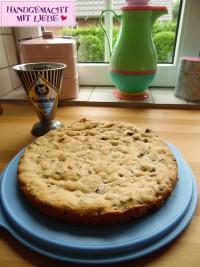 Cranberry-Schoko-Kuchen