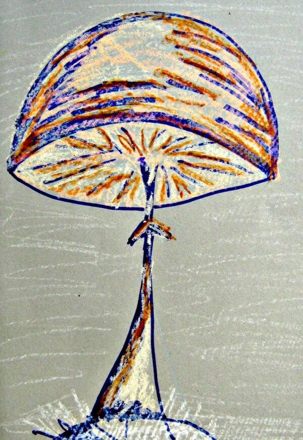Pilz Poster selbst gemacht