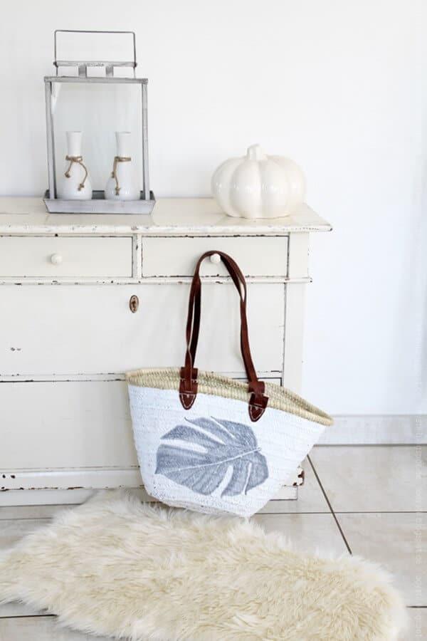 Korbtasche - ein herbstliches DIY