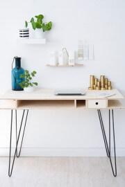 DIY: Schreibtisch mit Hairpin Legs