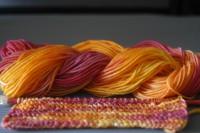Färben mit Ostereier-Farbe