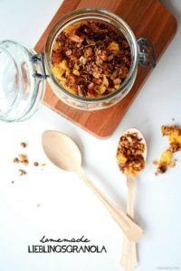 Homemade Lieblings-Granola – weltleckerstes selbstgemachtes Knuspermüsli