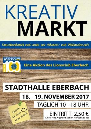 Kreativmarkt in Eberbach/Neckar