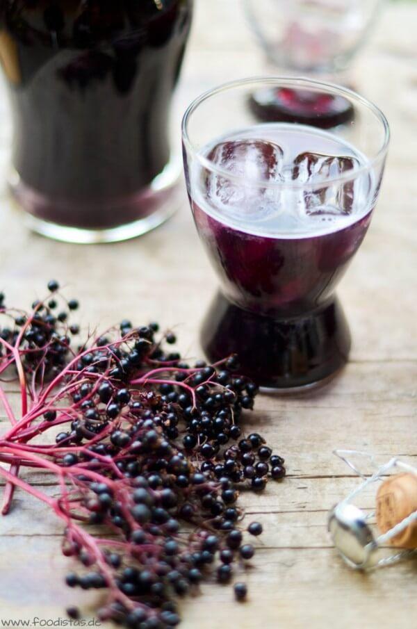 Sparkling Elderberry von den [Foodistas]