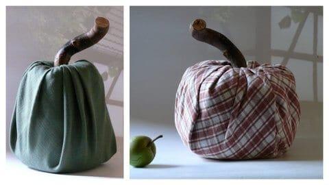 herbstdeko aus stoff handmade kultur. Black Bedroom Furniture Sets. Home Design Ideas