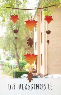 DIY Herbstmobile