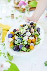 Lila Kartoffelsalat von den [Foodistas]