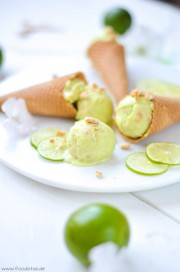 Key Lime Pie Ice Cream von den [Foodistas]