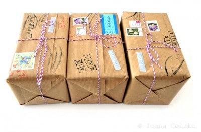 postpaket geschenkverpackung handmade kultur. Black Bedroom Furniture Sets. Home Design Ideas