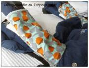Sabberschutz für die Babytrage nähen - DIY
