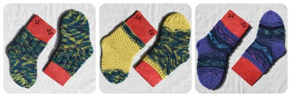 Sockenmarathon – die zweite Etappe
