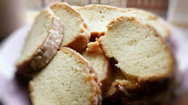 super saftiger veganer Zitronenkuchen