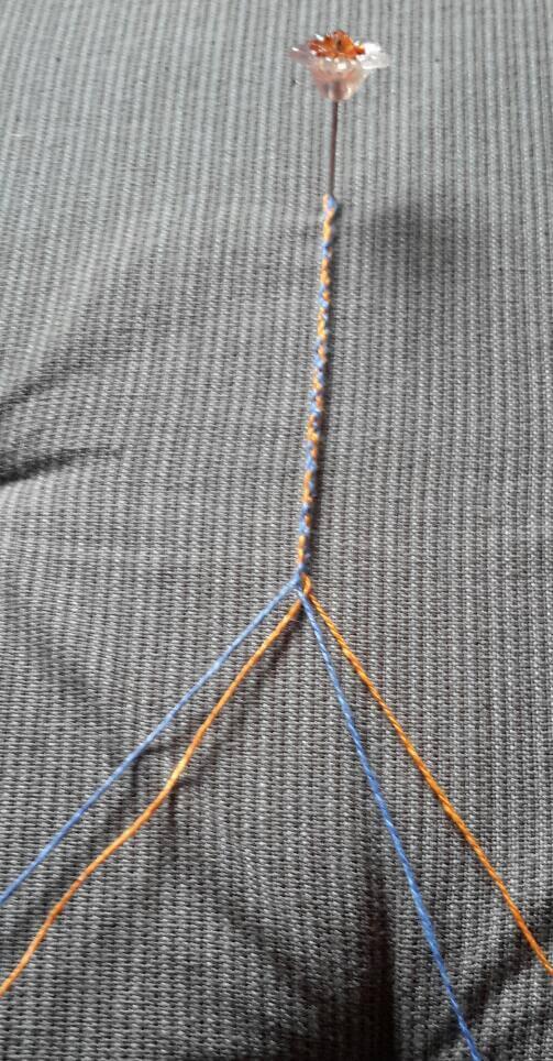 Klöppeln lernen - Teil 1 - ein einfaches Flechtband