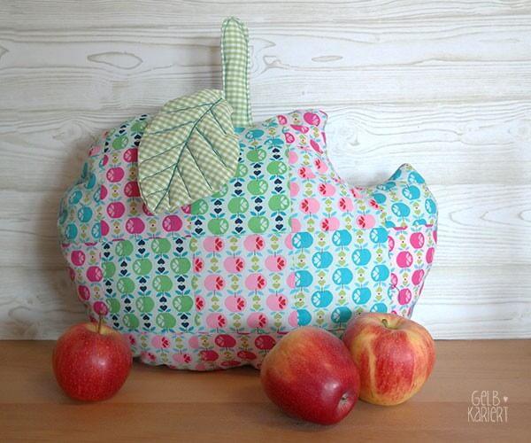 Kuscheliges Apfelkissen