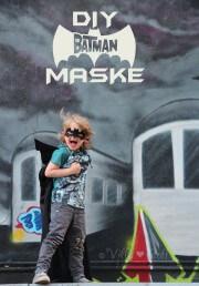 eine coole BATMAN Maske aus Filz basteln