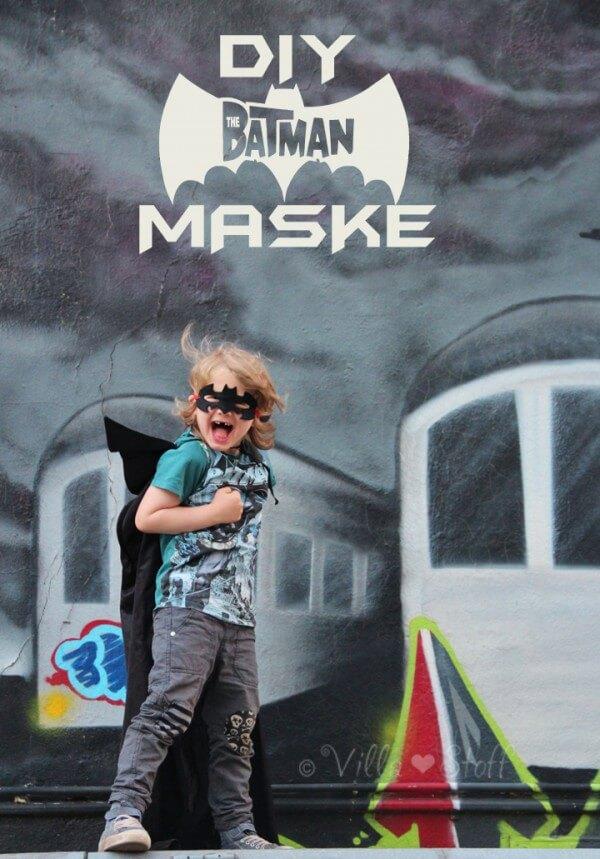 Eine Coole Batman Maske Aus Filz Basteln Handmade Kultur