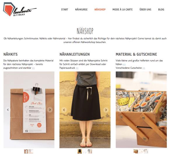 louloute Nähshop | Mode à la Carte