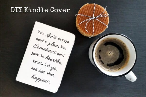 DIY Kindle Cover mit Washme Paper