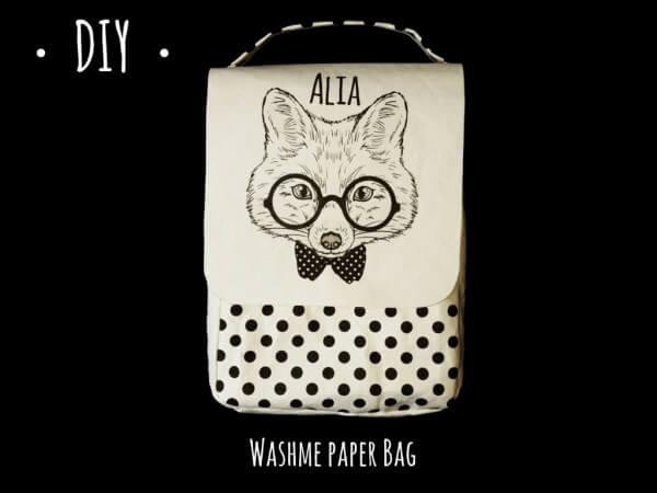 DIY Tasche mit Washme Paper