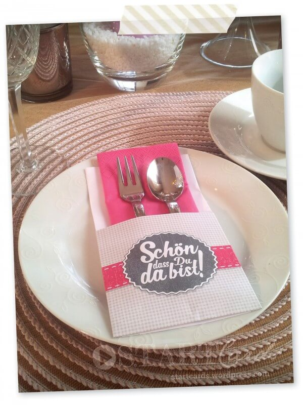 DIY – Bestecktaschen falten – Für das perfekte Dinner!