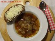 Aromatische Zwiebelsuppe