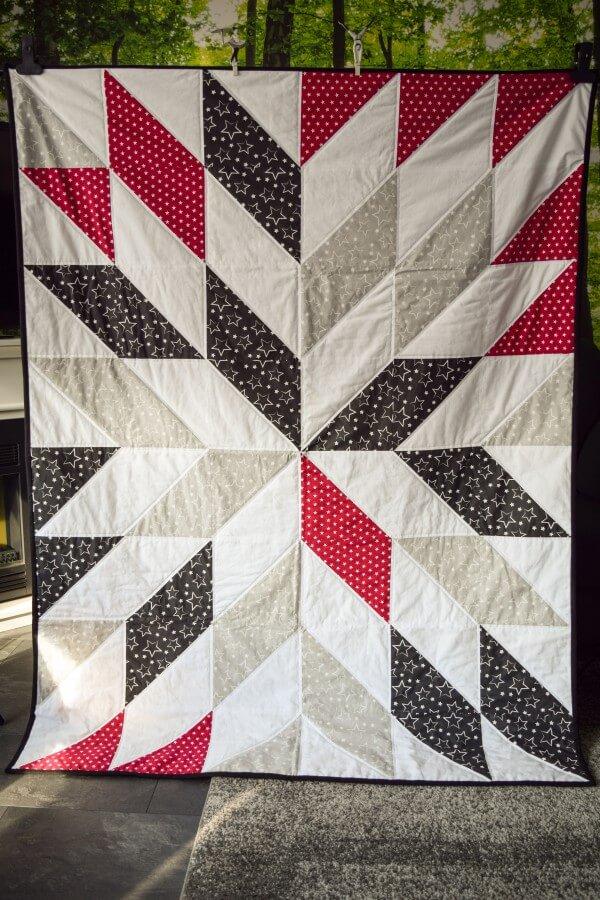 Herbstzauber - mein erster Quilt ist fertig