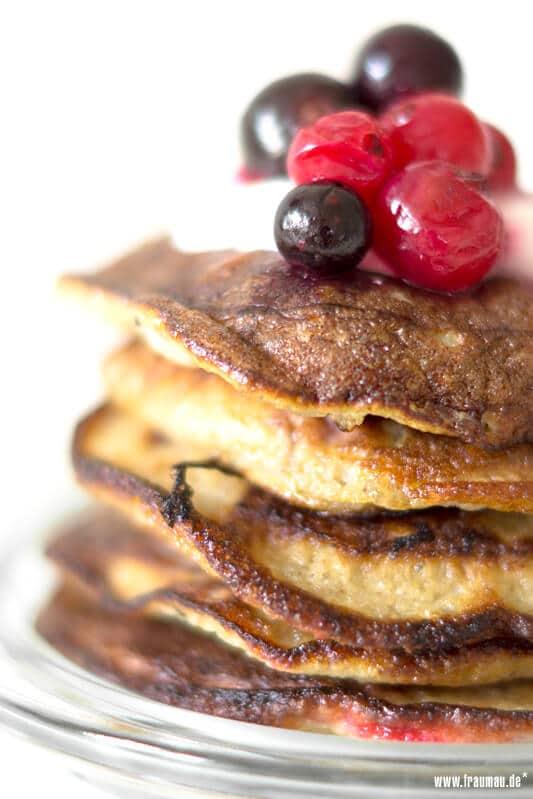 Hipster Paleo Pancakes mit Chia Samen