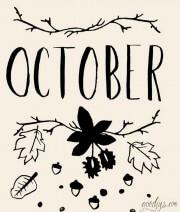 Wallpaper für Oktober