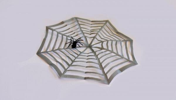 15 Minuten Halloween Dekoration Spinnennetz Mit Spinne
