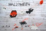 Halloween-Bügelperlen-DIY