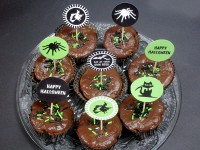 Gruselige Topper für dein Halloween-Buffet!