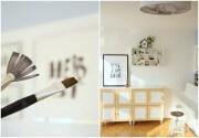 {DIY: } Herbstdeko für die Wand -Typografie mit Pinsel und Tusche