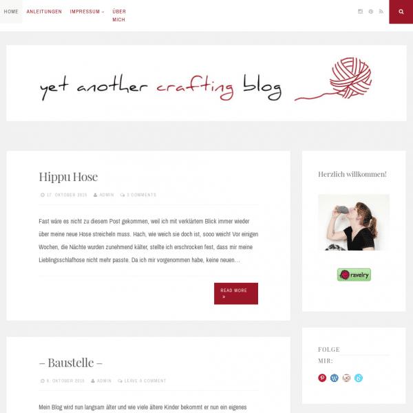 yetanothercraftingblog | Ein weiterer DIY Blog unter Vielen.