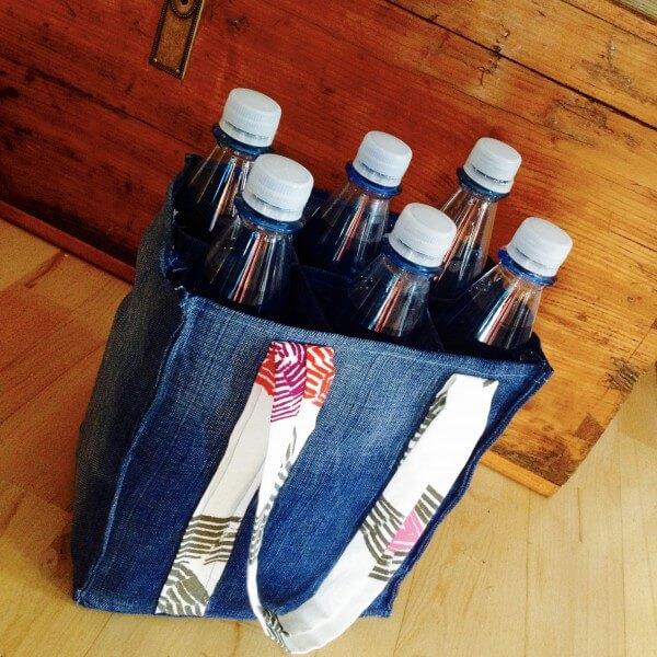 Beinahe in die Hose gegangen: Jeans-Flaschenträger