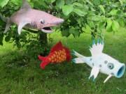 Filzkurs Märchenlampe, Schatzfisch und Handpuppe